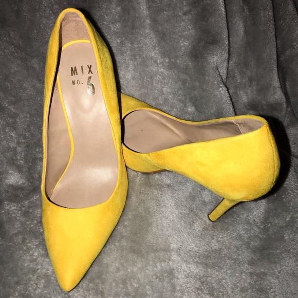 Shoes | Yellow Heels | Poshmark